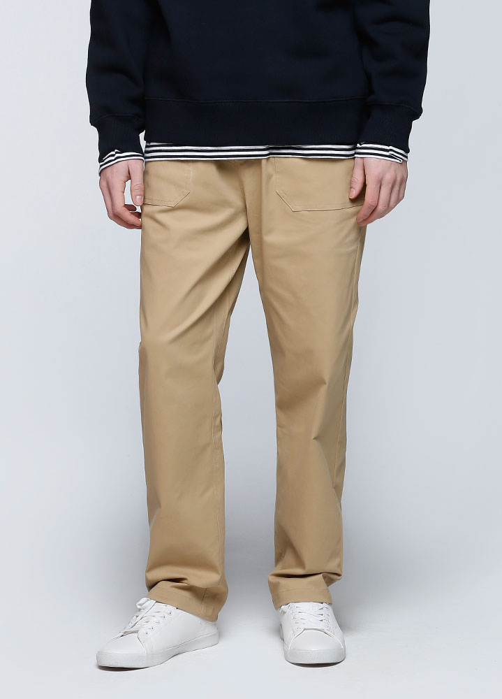 BANDING FATIGUE PANTS[BEIGE]