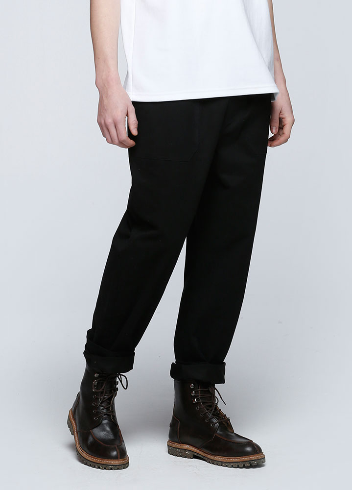 BANDING FATIGUE PANTS[BLACK]