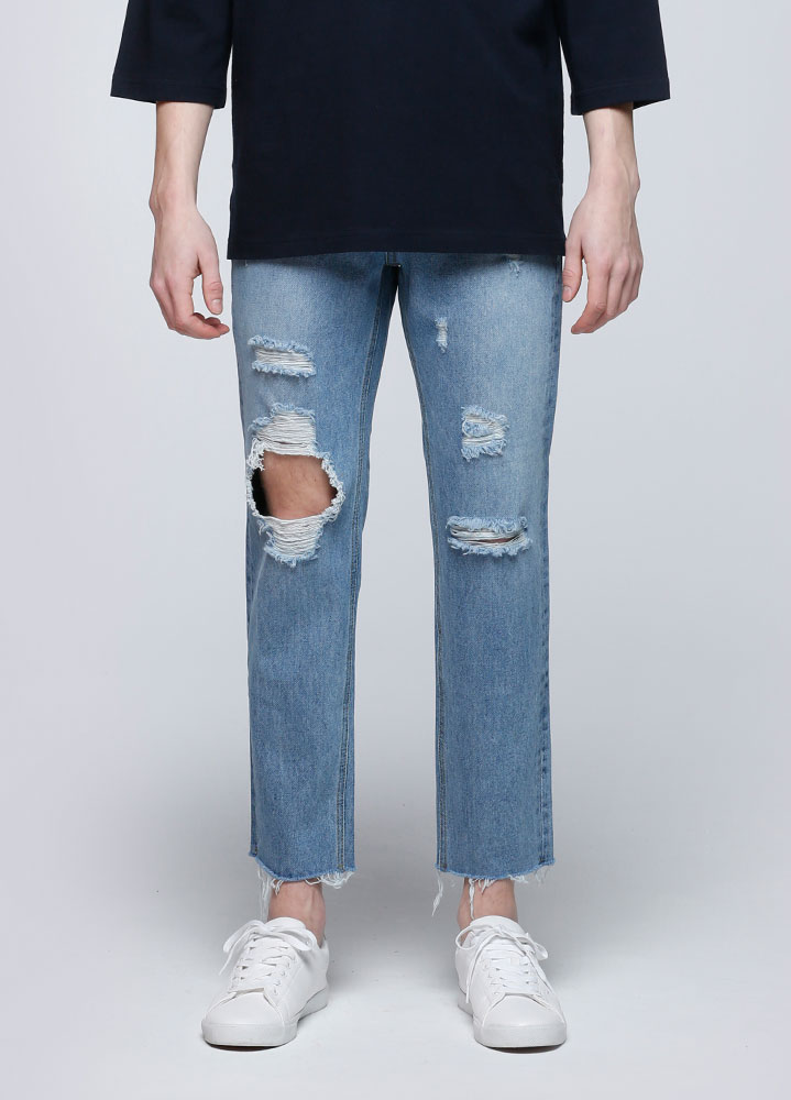 LEVI WASHED JEANS