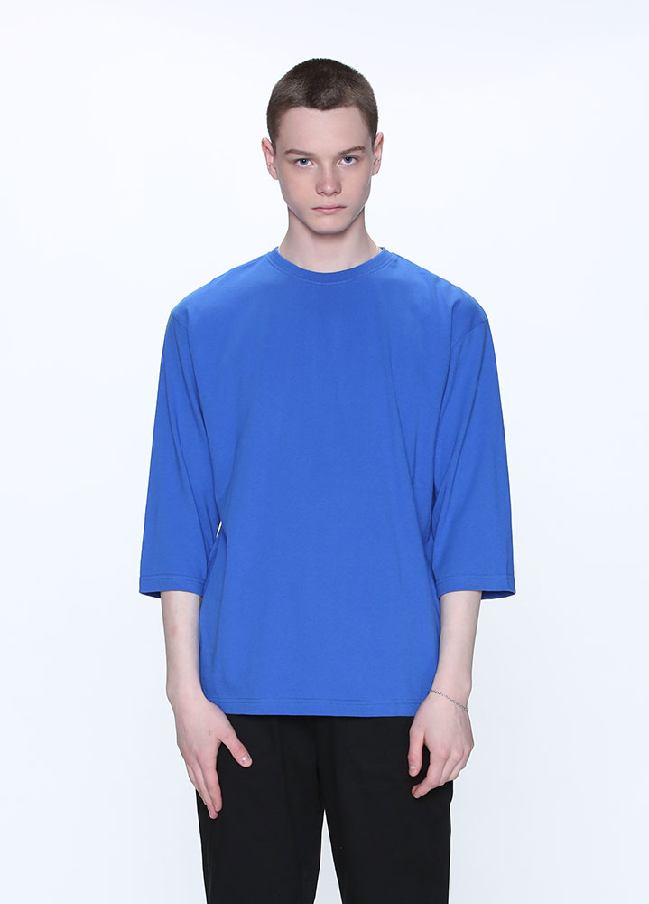 OVERSIZED 3/4 TSHIRT[BLUE]