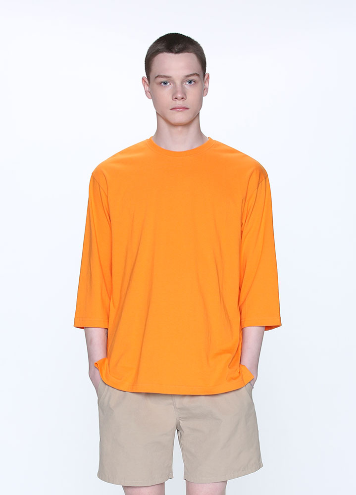OVERSIZED 3/4 TSHIRT[ORANGE]