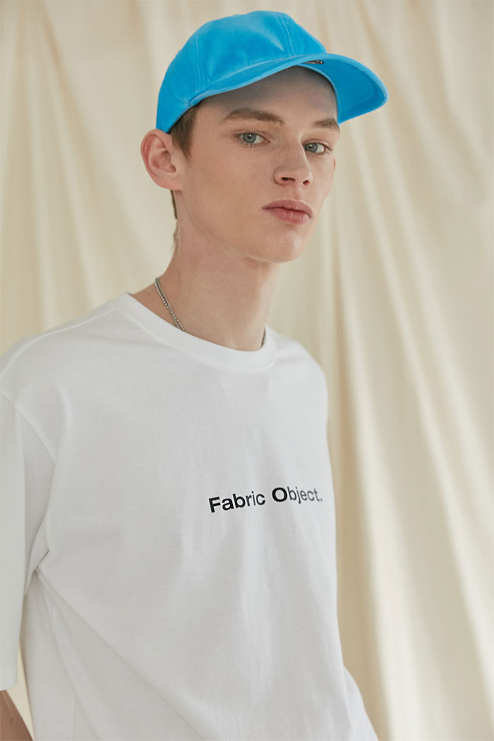 FABRIC OBJECT TSHIRT[WHITE]