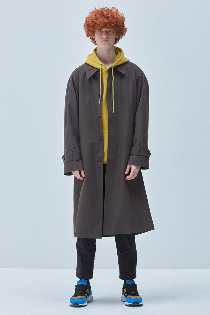 OVER FIT BALMACAAN COAT[KHAKI]