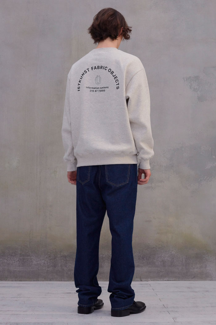 INFORMATION SWEATSHIRT[OATMEAL]
