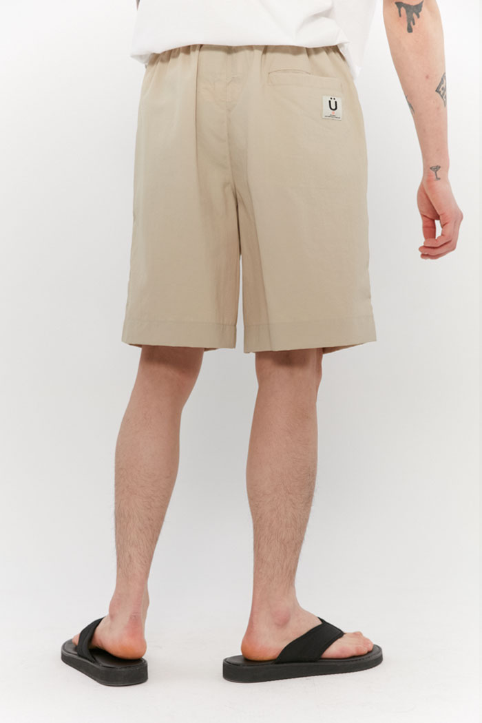 TASLAN BEACH SHORT PANTS[BEIGE]