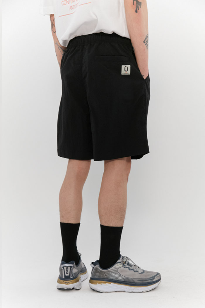 TASLAN BEACH SHORT PANTS[BLACK]