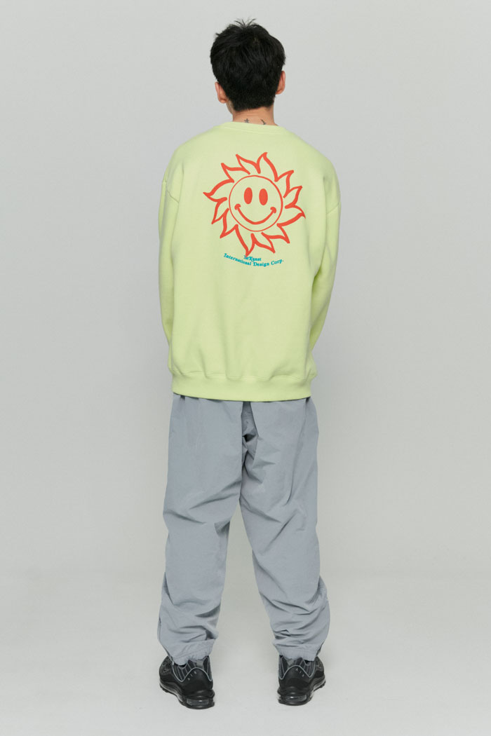 SUNSMILE SWEATSHIRTS[LIME]