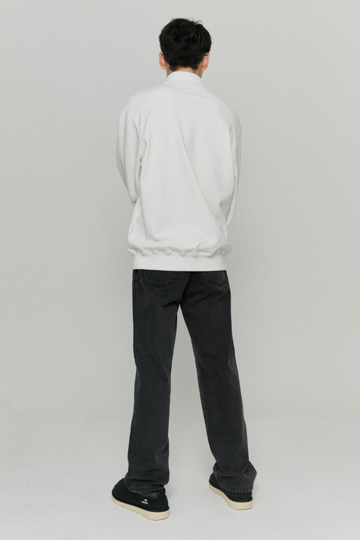 POLO SWEATSHIRTS[WHITE]
