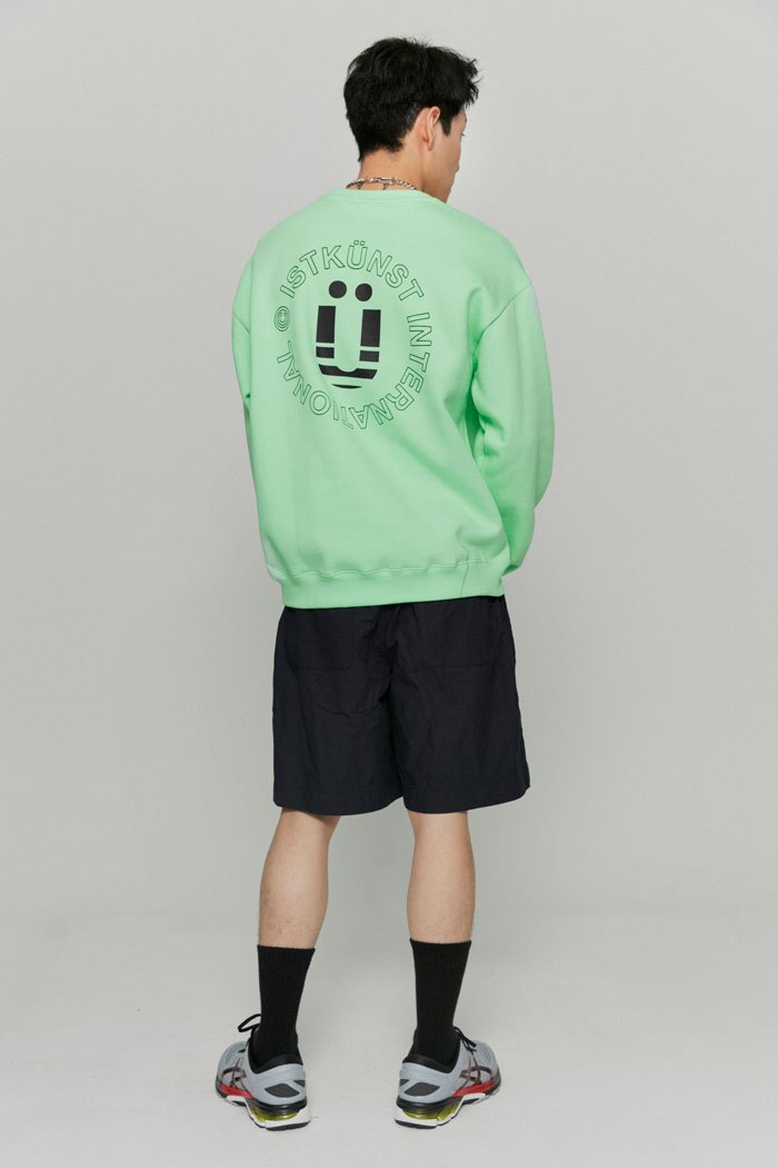 INT LOGO SWEATSHIRTS[GREEN]