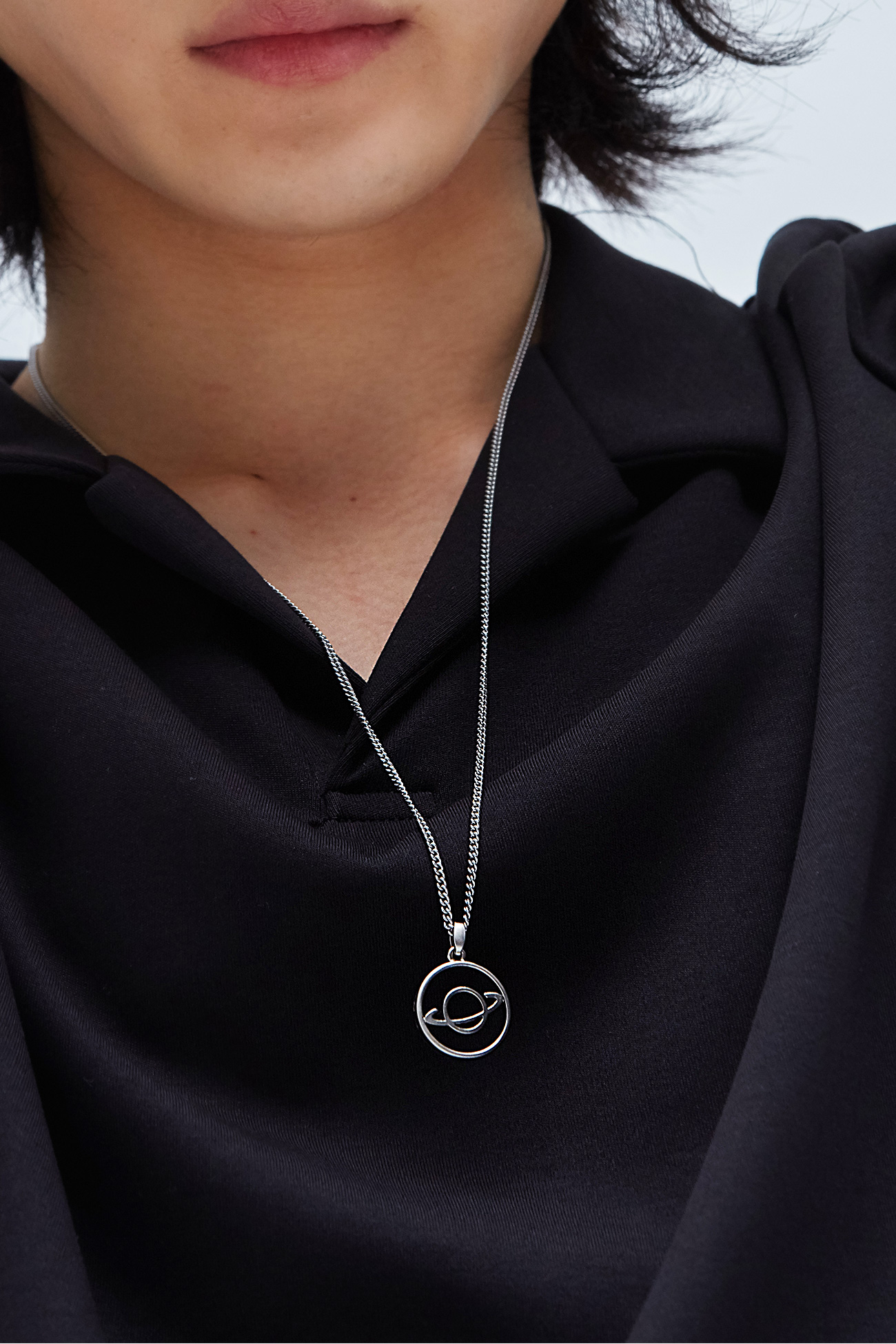 SATURN NECKLACE[SILVER]