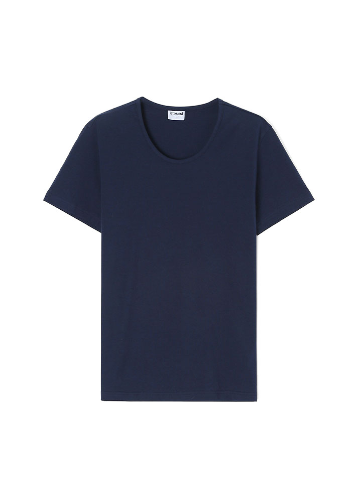 [17SS] SCOOPNECK COTTONSPAN TSHIRT