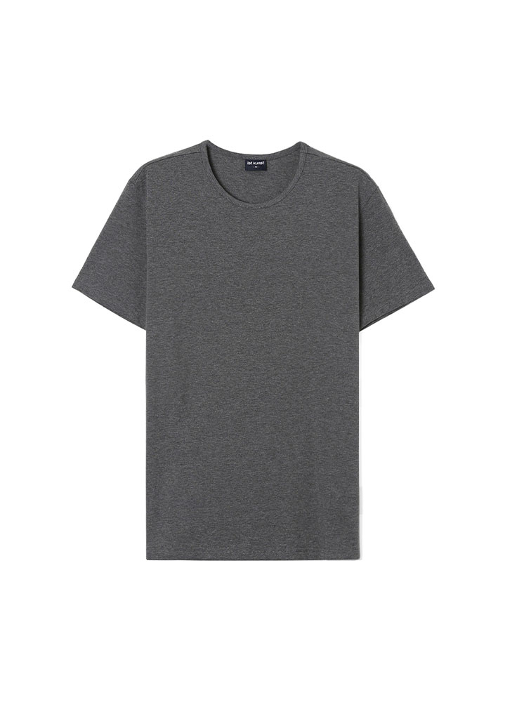 [17SS] ROUNDNECK COTTONSPAN TSHIRT