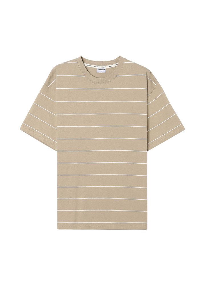 [17SS] PIN STRIPE LOOSE FIT TSHIRT