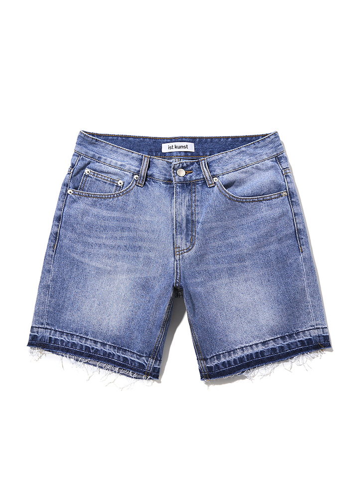 [17SS]DRY ICE DENIM SHORTS