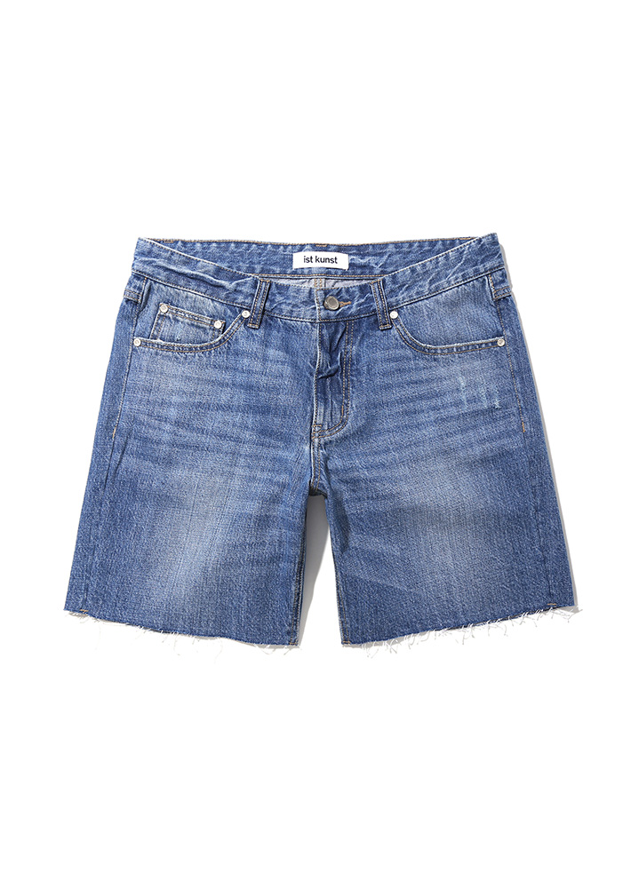 [17SS]LOOSE FIT DENIM SHORTS