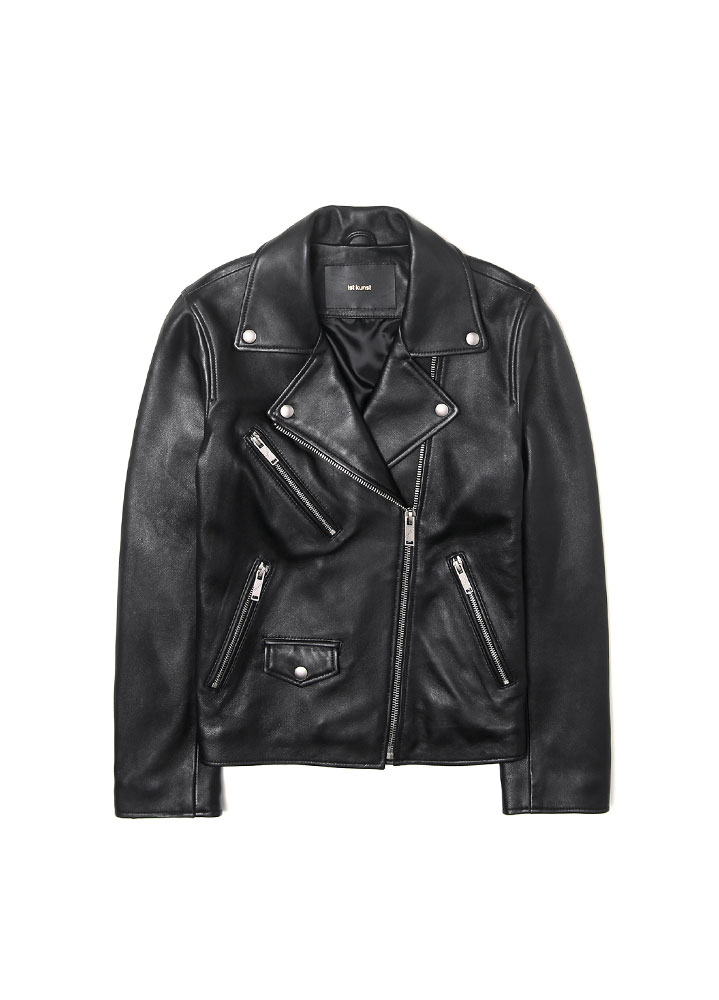 [17FW] WOMENS LAMBSKIN RIDERS JACKET[BLACK]