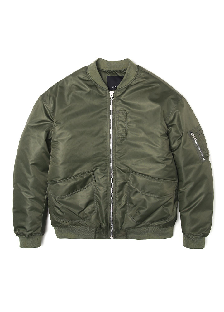 [17FW SUPER EDITION] OVERSIZED MA-1 FLIGHT JACKET[OLIVE]