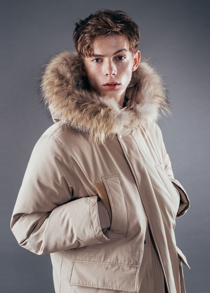 [17FW] WARREN DUCK DOWN PARKA[BEIGE]