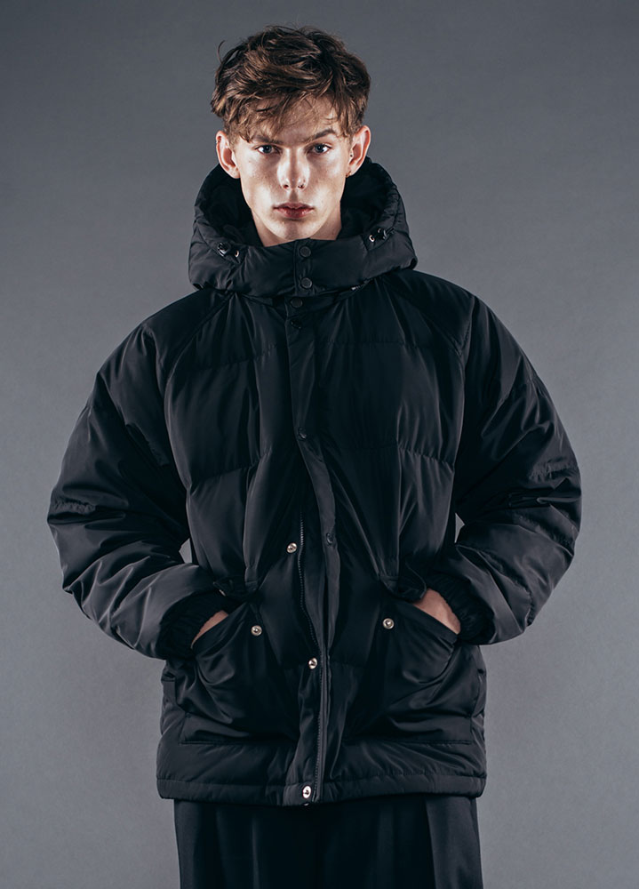 [17FW] DUCK DOWN PUFFER JACKET[BLACK]