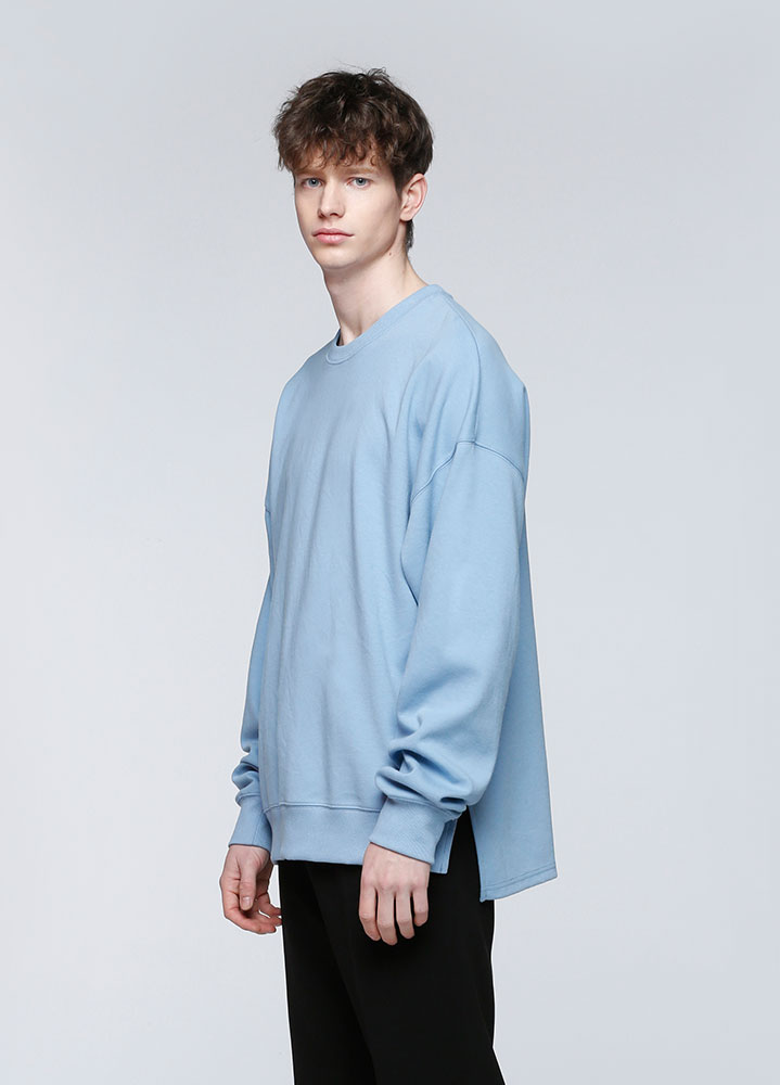 VENT OVERSIZED SWEATSHIRT[BLUE]