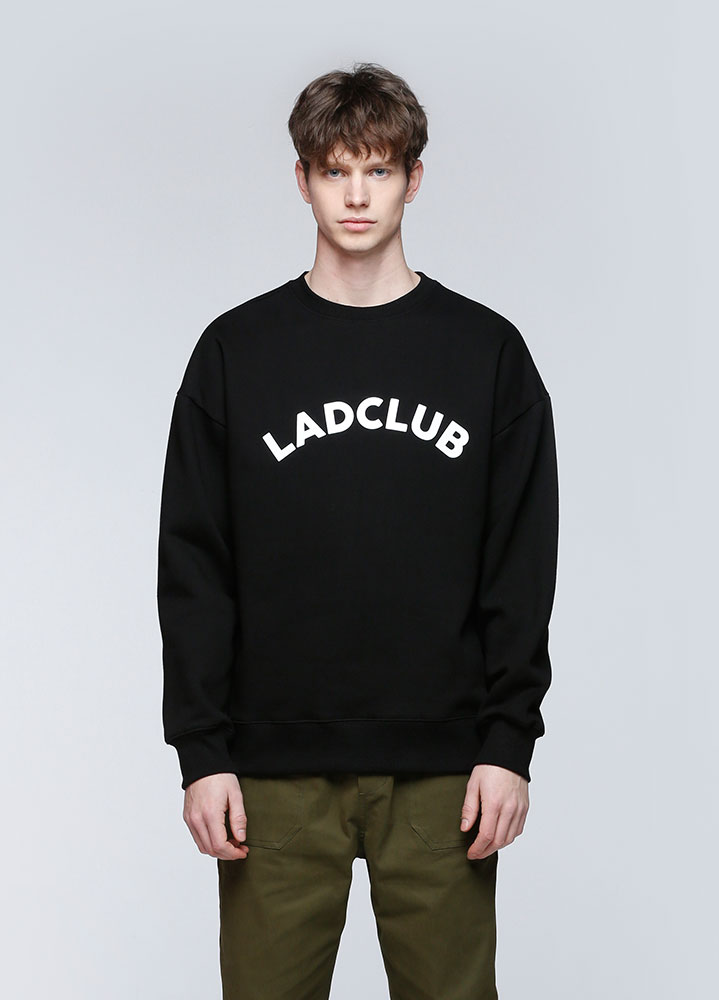 LADCLUB SWEATSHIRT[BLACK]