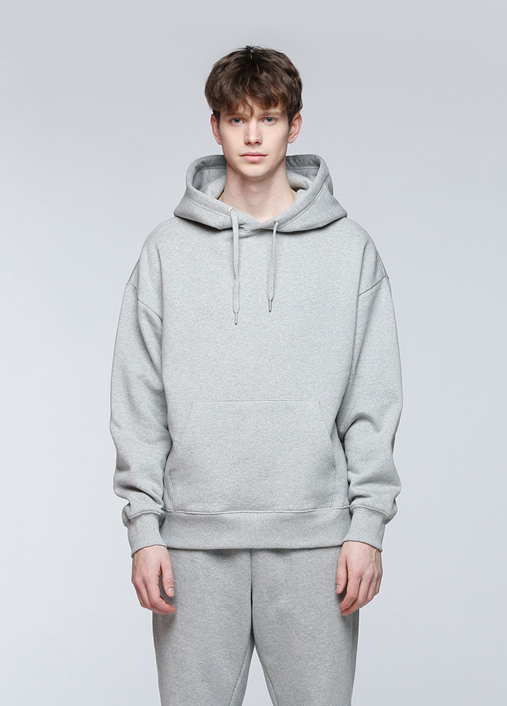 JACE OVERSIZED PULLOVER HOODIE[GREY]