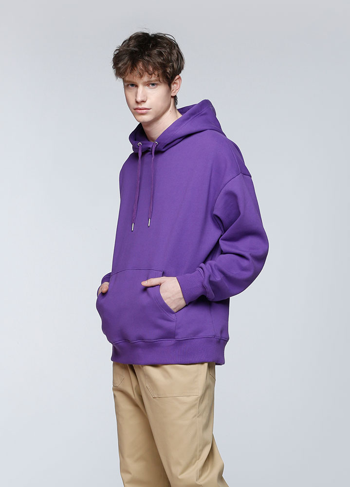 JACE OVERSIZED PULLOVER HOODIE[PURPLE]