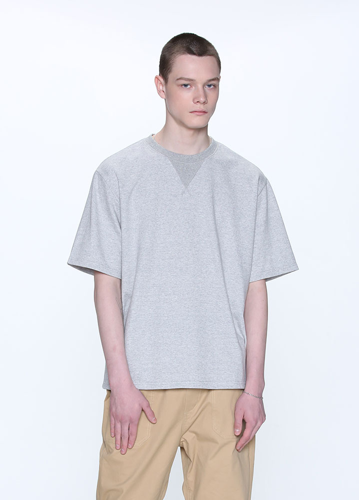COMFORTABLE TSHIRT[GREY]