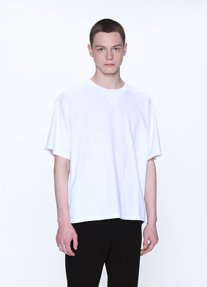 COMFORTABLE TSHIRT[WHITE]