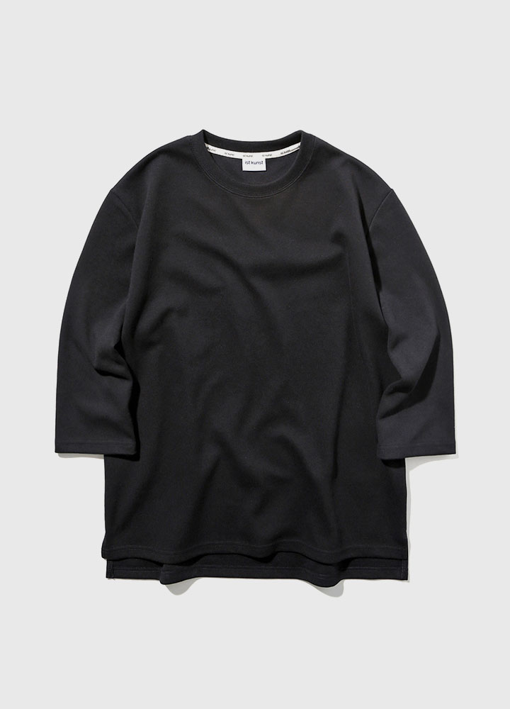 3/4 DROP SWEATSHIRT[BLACK]