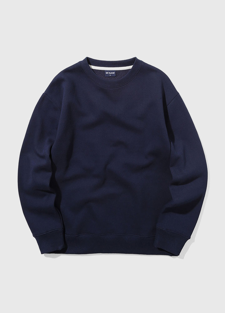 BASIC SWEATSHIRT[NAVY]
