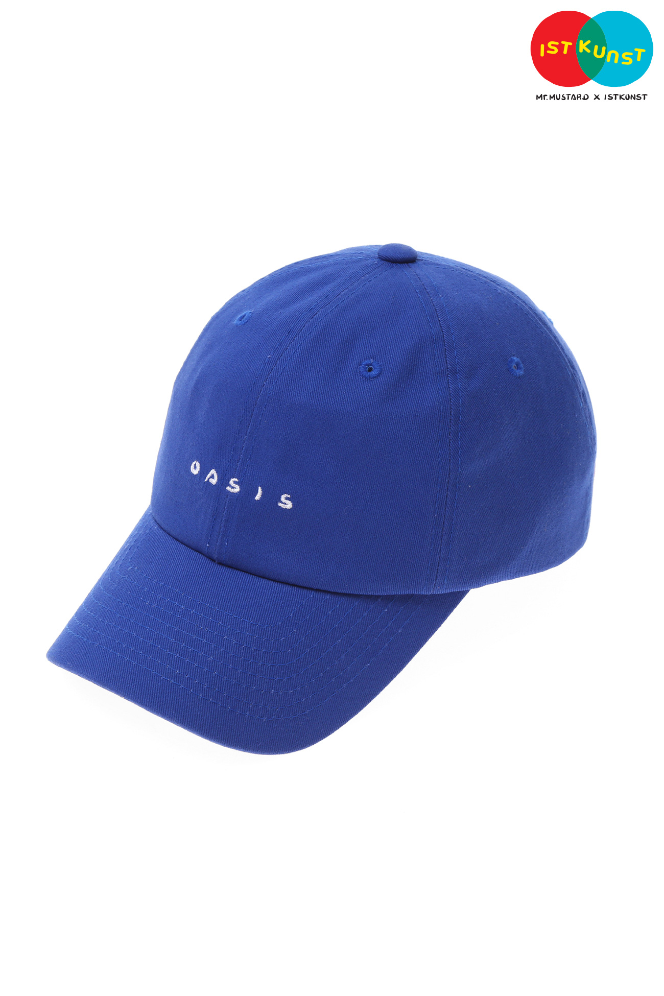 MUSTARD OASIS BALL CAP[BLUE]