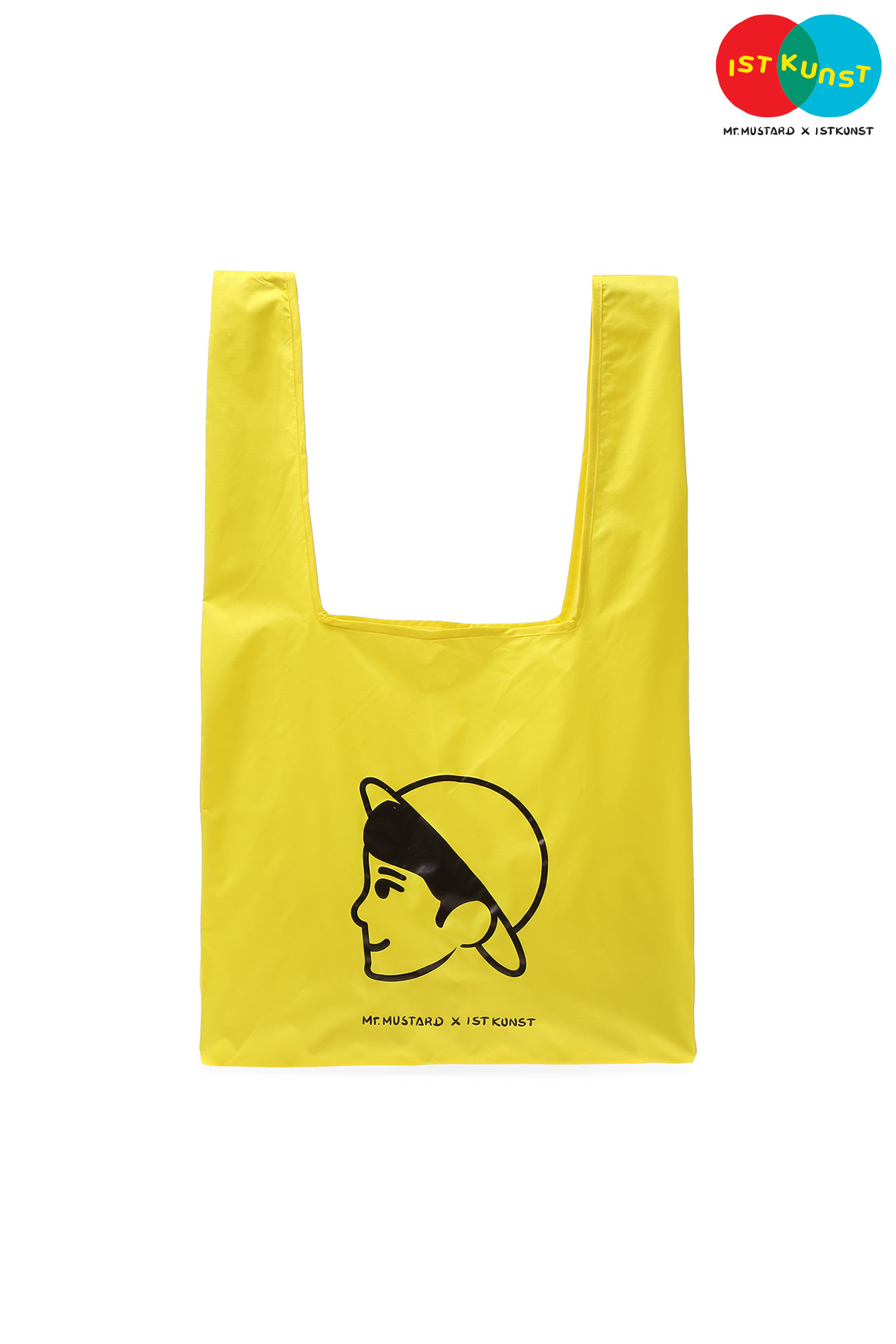 MUSTARD VEN SHOPPER BAG[YELLOW]