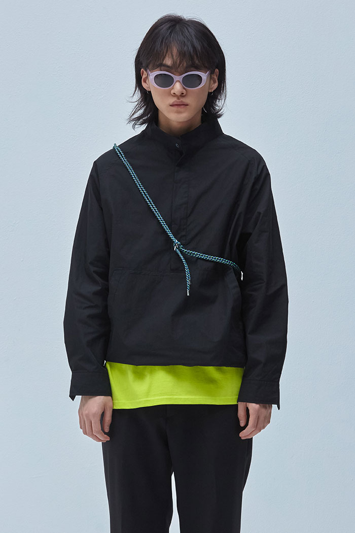 ANORAK SHIRTS[BLACK]