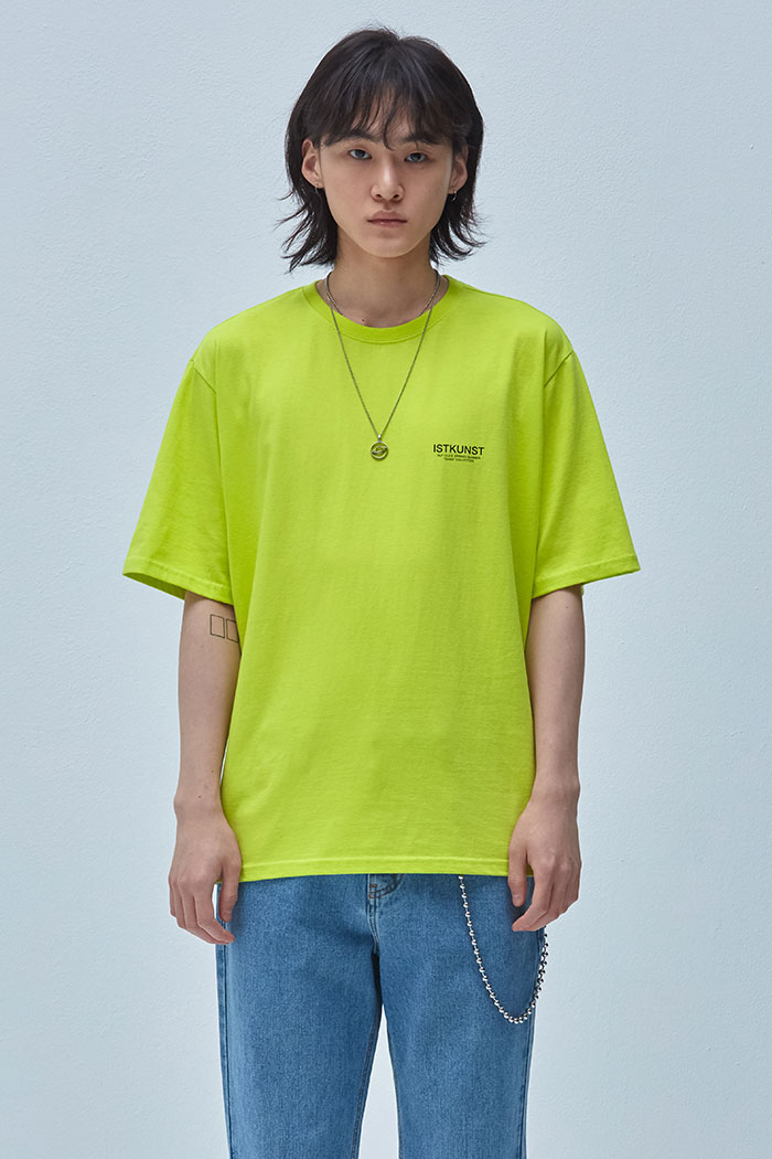 RECORD TSHIRT[LIME]