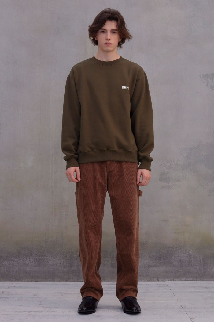 CORDUROY PAINTER PANTS[BROWN]