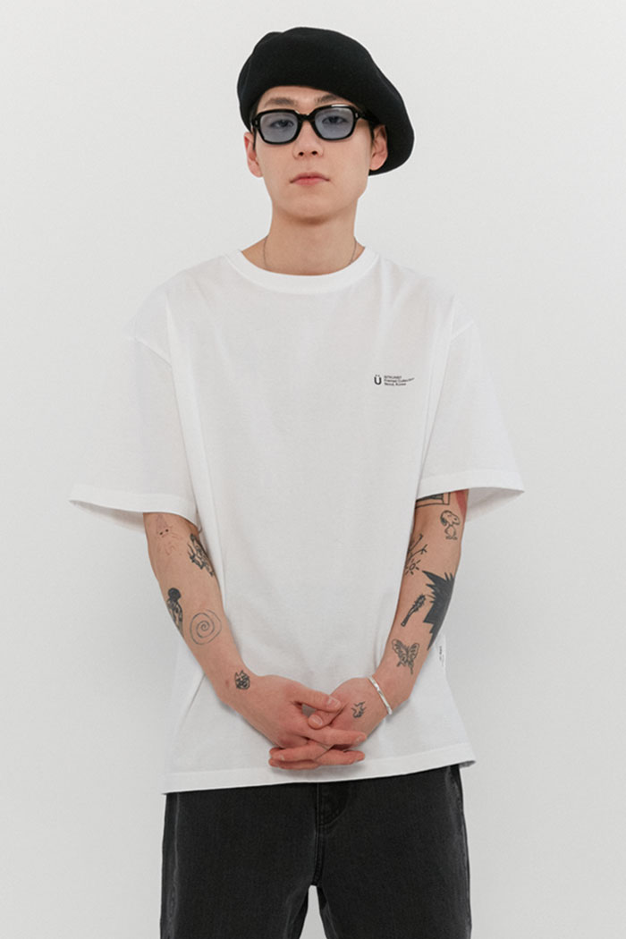 INVITATION TEE[WHITE]