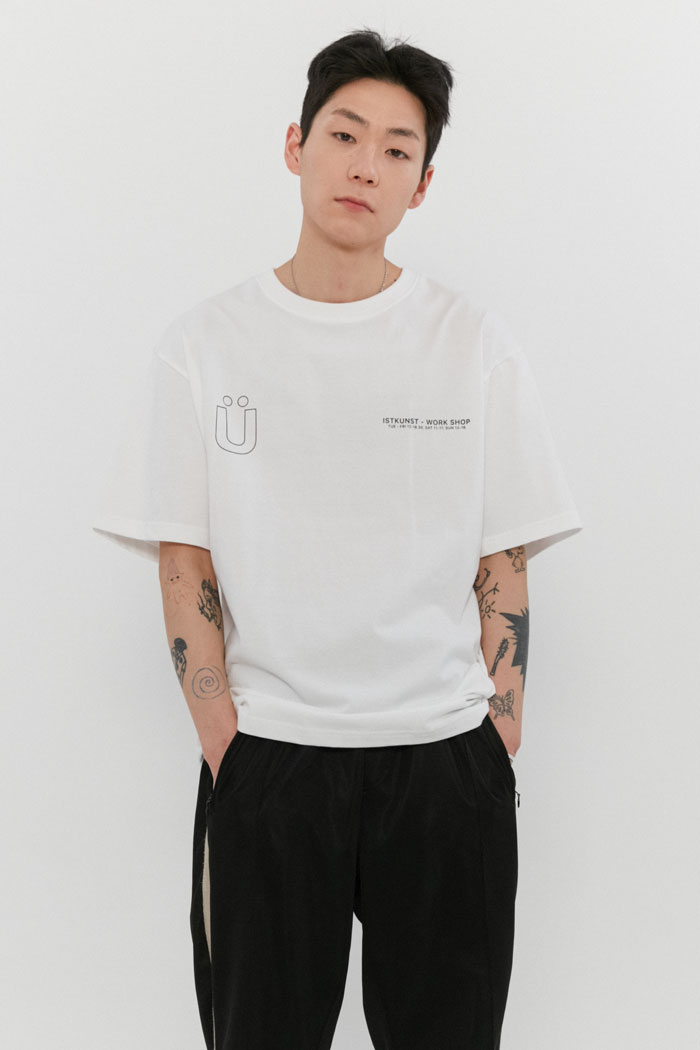 WORKSHOP TEE[WHITE]