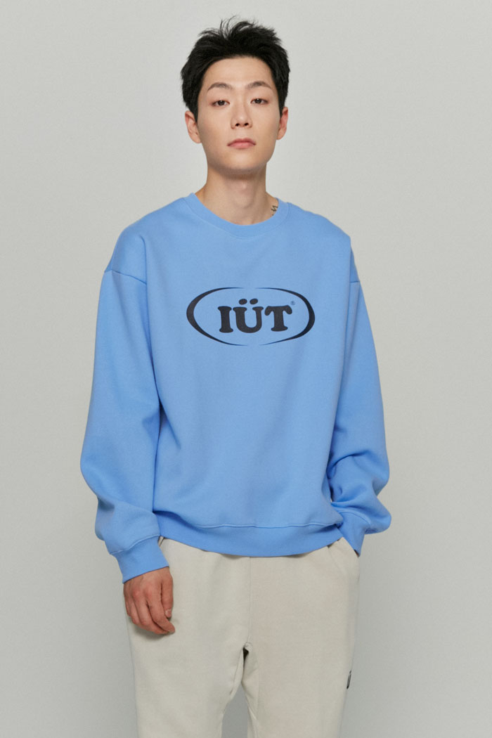 OVAL LOGO SWEATSHIRTS[BLUE]