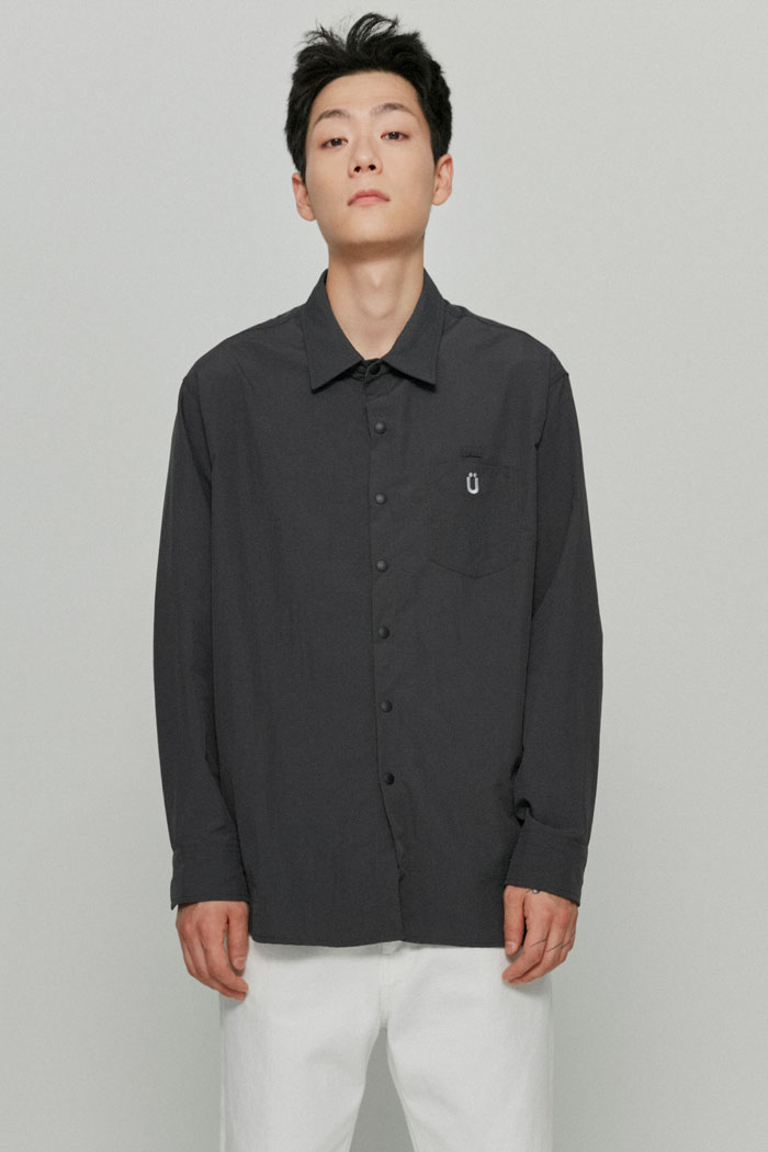 SUNGRIP COMFORT SHIRT[CHARCOAL]