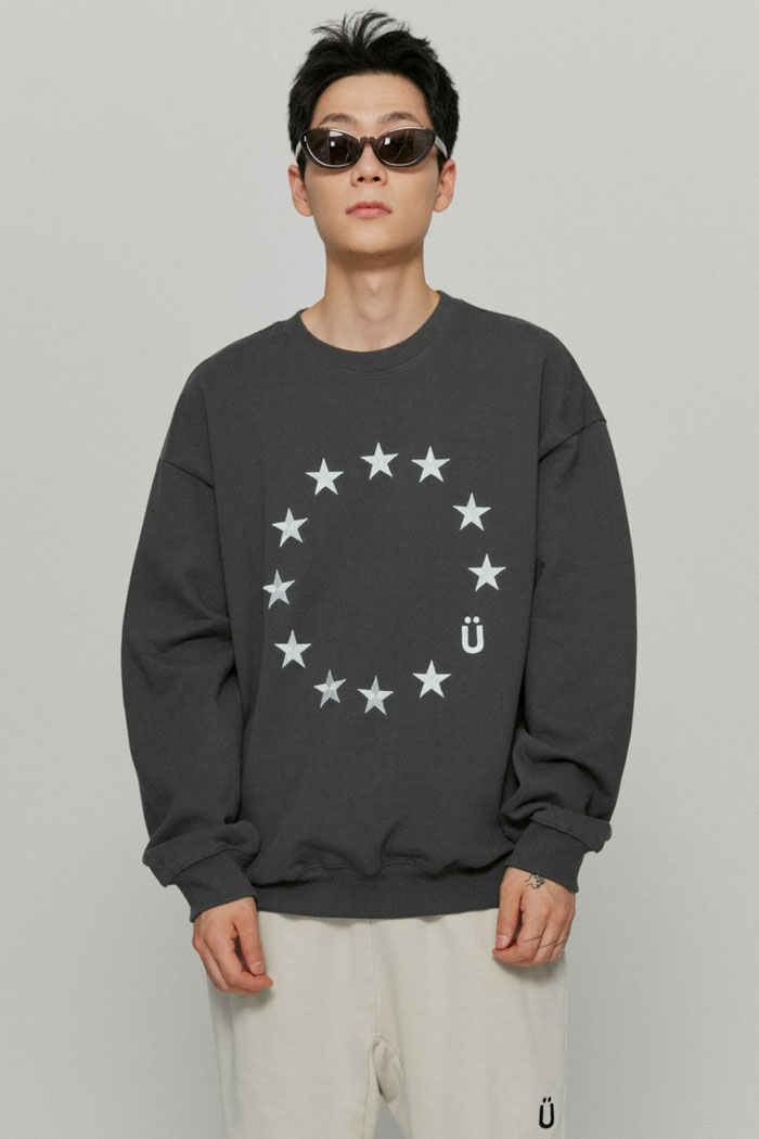 EU LOGO SWEATSHIRTS[BLACK]
