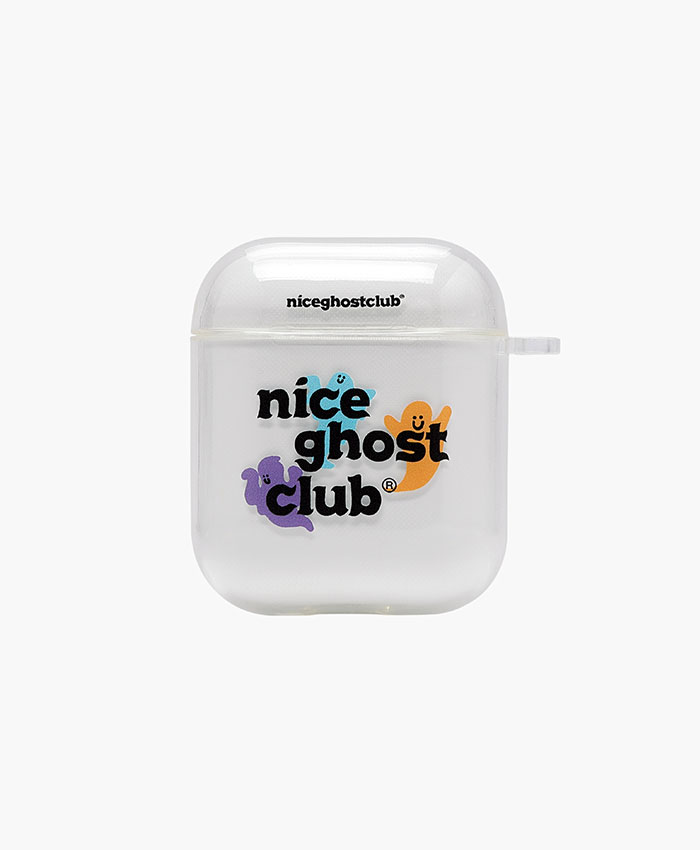 NGC_O.G LOGO AIRPODS CASE CLEAR