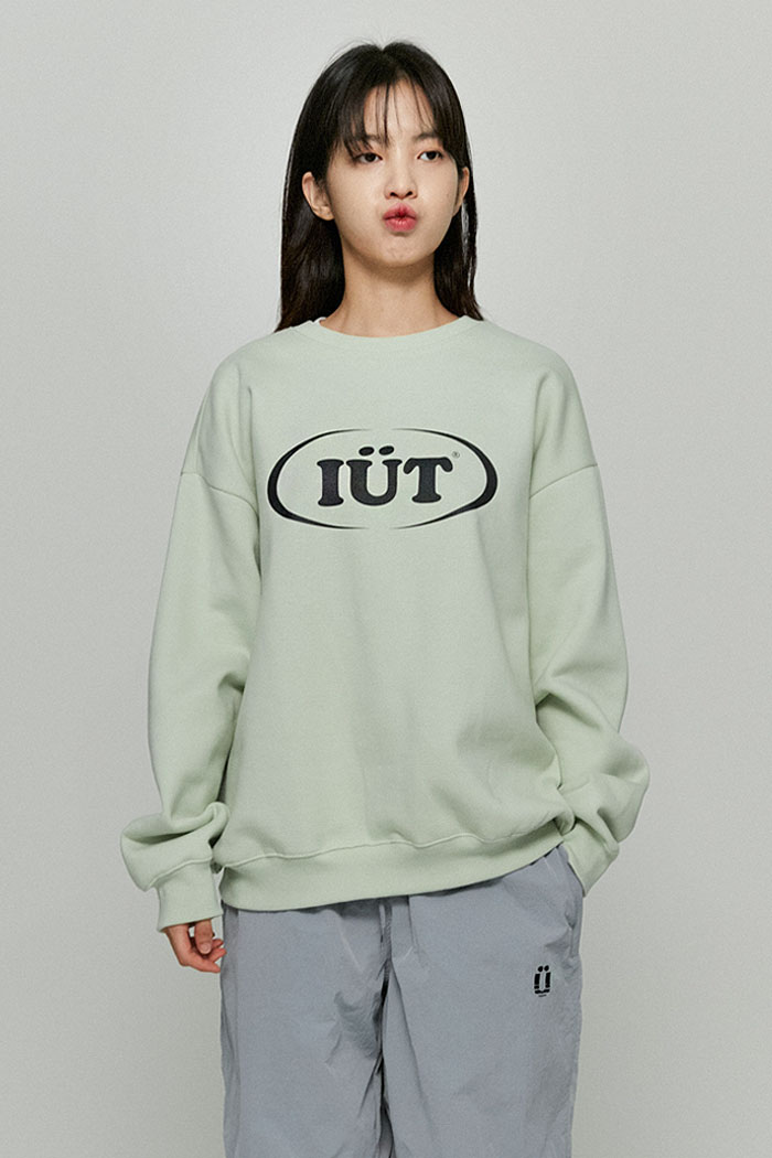OVAL LOGO SWEATSHIRTS[MINT]