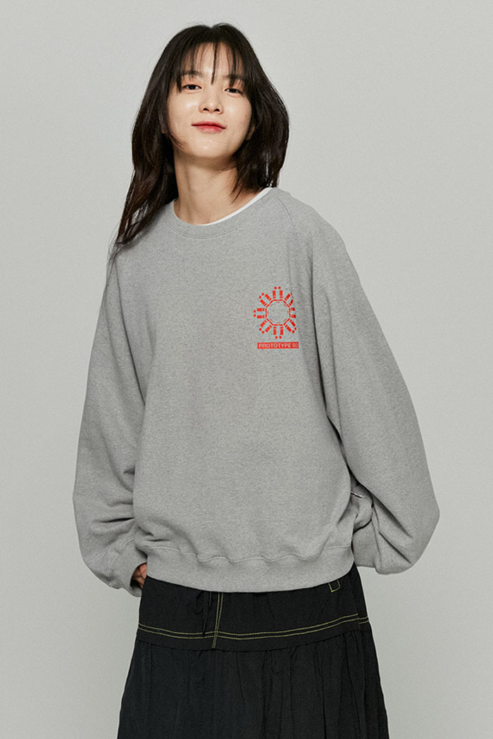 MECHANIC SWEATSHIRTS[GREY]