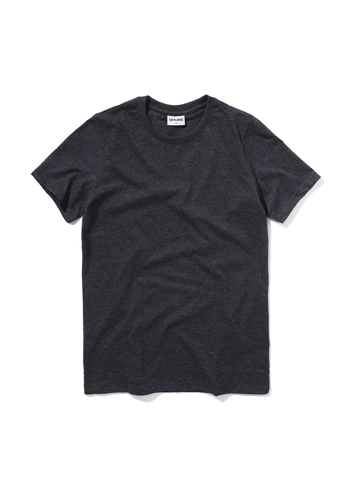 [STANDARD]MUSCLE FIT TSHIRT[CHARCOAL]